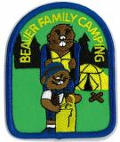 CREST - FAMILY CAMPING BEAVER