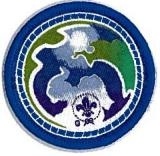 BADGE CUB WSEP ENVIRONMENT BLUE