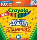 10 WASH ULTRA CLEAN EXPRESSION STAMPERS (CRAYOLA)