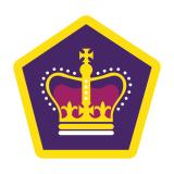 BADGE - QUEEN'S VENTURER AWARD