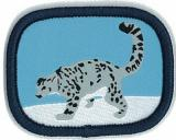 CREST - WILDLIFE-PATROL-LODGE-SNOW LEOPARD