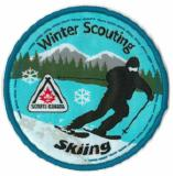 CREST - SKIING - WINTER SCOUTING
