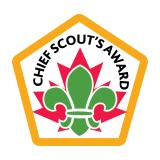 BADGE - CHIEF SCOUT'S AWARD
