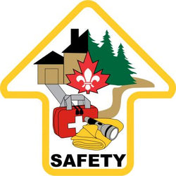 SAFETY ARROW CREST