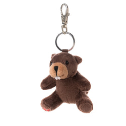 KEYCHAIN - BEAVER (STUFFED TOY)