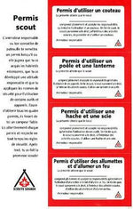 PERMITS - SCOUT SAFETY - 1 SHEET