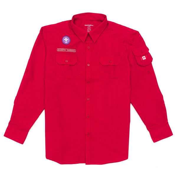 SHIRT - UNIFORM - MEN'S - RED