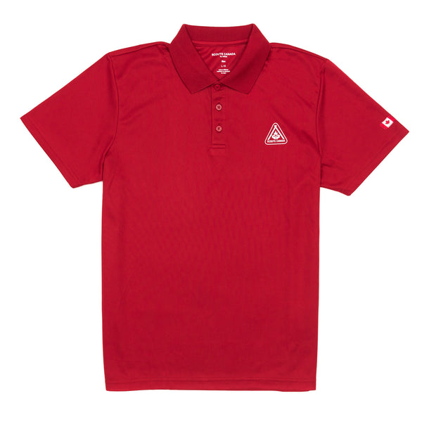 TECH POLO MEN'S RED