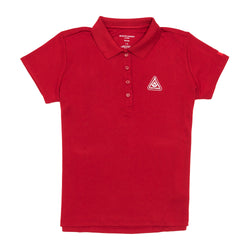 TECH POLO WOMEN'S RED