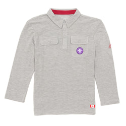 JERSEY L/S CUB SCOUTS UNIFORM SHIRT