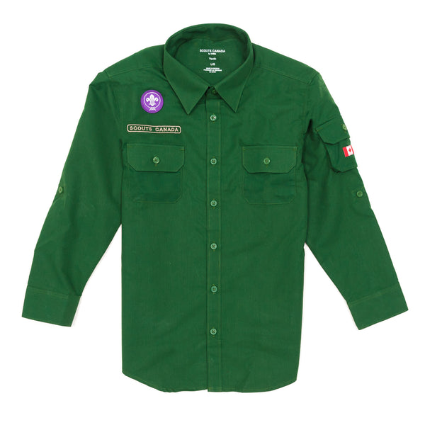 SHIRT-UNIFORM-SCOUT-GREEN-YOUTH