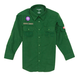 SHIRT-UNIFORM-SCOUT-GREEN ADULT