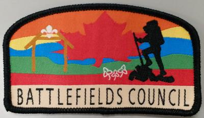 BADGE - BATTLEFIELDS COUNCIL