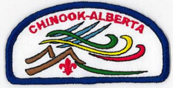 BADGE - CHINOOK - ALBERTA COUNCIL