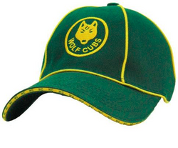 CAP - GREEN RETRO WOLF CUB