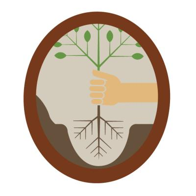 BADGE - EARTH BEAVER