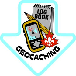 GEOCACHING CREST ARROW
