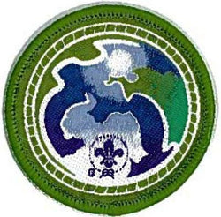 BADGE SCOUT WSEP ENVIRONMENT GREEN