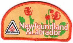 BADGE - NEWFOUNDLAND AND LABRADOR PROVINCIAL BADGE