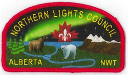 BADGE - NORTHERN LIGHTS COUNCIL - ALBERTA