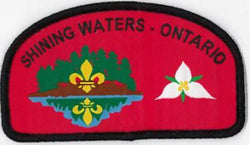 BADGE- SHINING WATERS COUNCIL