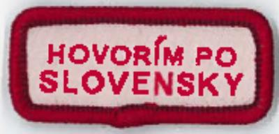 LANGUAGE STRIP - SLOVAK