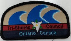 BADGE - TRI-SHORES COUNCIL