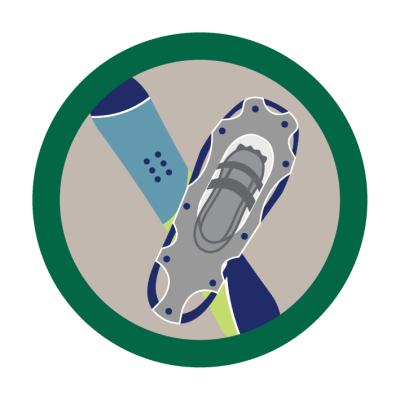 BADGE - SCOUT WINTER FITNESS