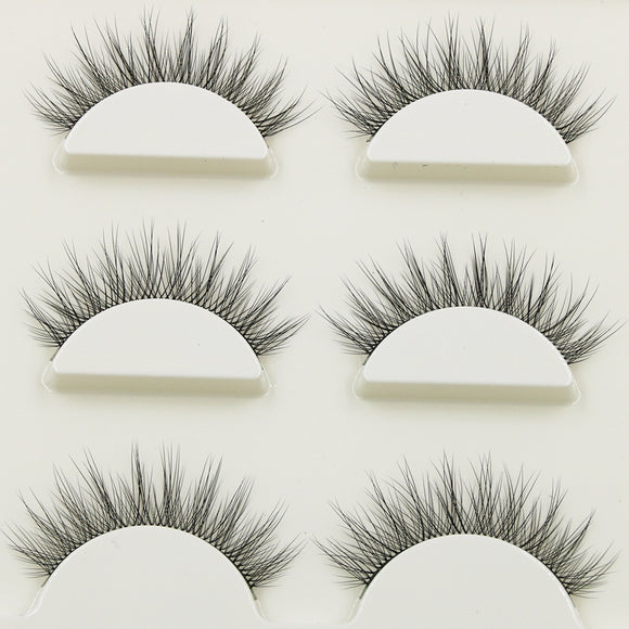 Multi-layer Curling Cross False Eyelashes - Third Variety Select