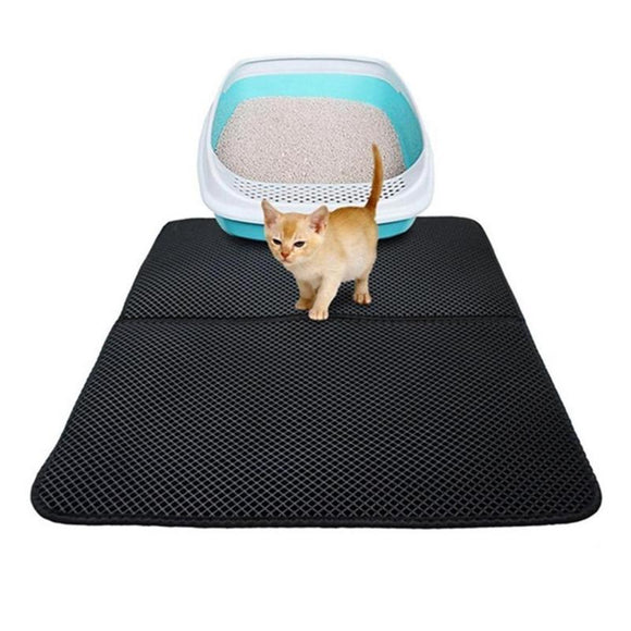 EVA Double Layer Cat Litter Mat.Anti-urine Cat Litter Mat - Third Variety Select