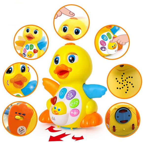 Flapping Yellow Duck Electrical Toy - Third Variety Select
