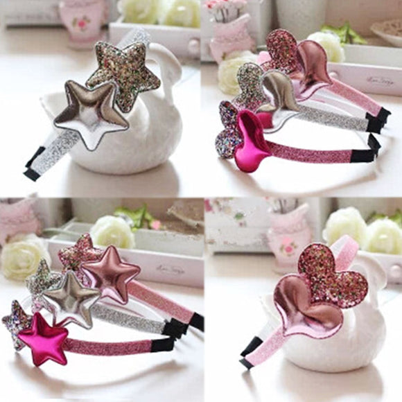 Star Graceful Heart Golden Hairband Unique Gifts - Third Variety Select