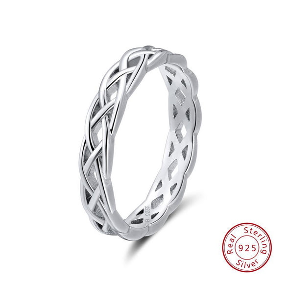Unique Twisted Shape Round Ring - Third Variety Select