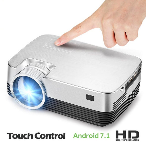 Best Android Projector HD. Incredible HD Mini Projector for mobile phones. 1280x720 Pixel HD Mini Android Projector - Third Variety Select