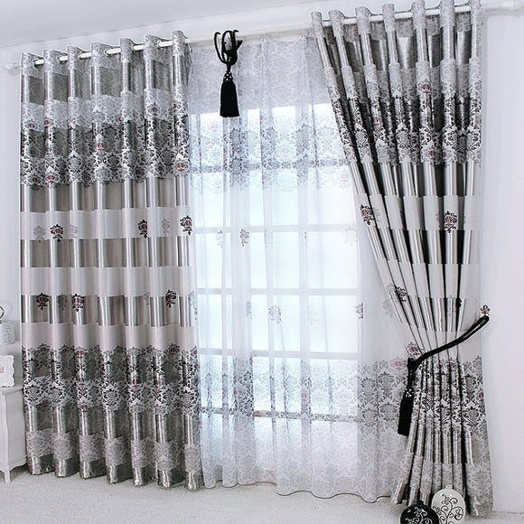Noble Printing Shade Curtain - Third Variety Select