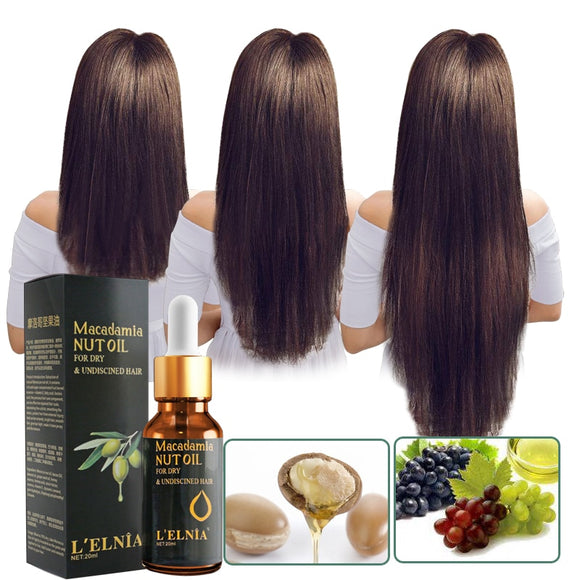 Argan Oil Hair Mask, 100% ORGANIC Argan & Almond Oils - Deep Conditioner, Hydrating Hair Treatment Therapy - Third Variety Select