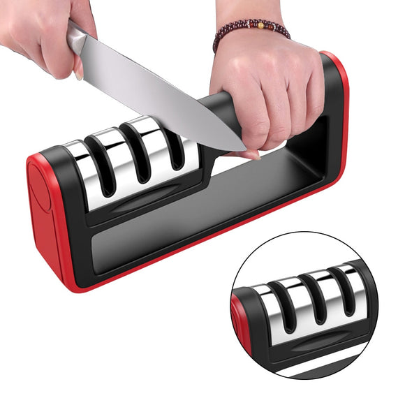 Knife Sharpner.Eco-Friendly Stainless Steel Sharpeners - Third Variety Select
