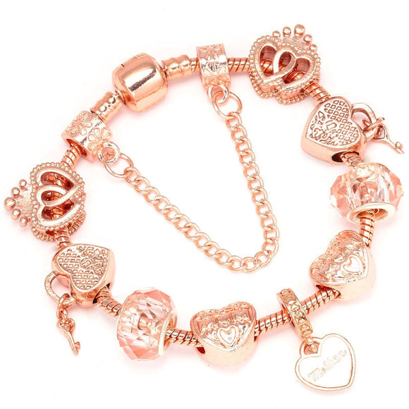 Clear Crystal Bracelets.Crystal Unique Charm Bracelet For Gift - Third Variety Select