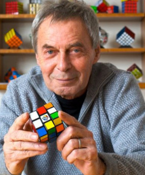 "Ernő Rubik and the ""Magic Cube"""