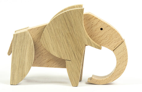 ESNAF Wooden Magnetic Toy - Elephant