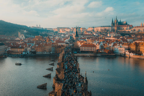Prague (c) Anthony DELANOIX on Unsplash