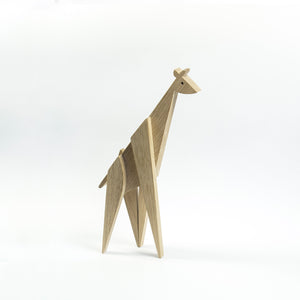 Archabits wooden home decor - Giraffe XL - side