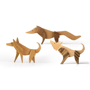 Wooden Magnetic Toys - Doggies Kit