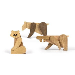 Wooden Magnetic Toys - We Bare Bears Kit