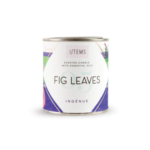 Scented candle in a can - Fig Leaves