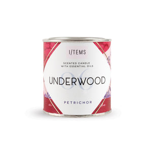 Scented candle in a can - Underwood