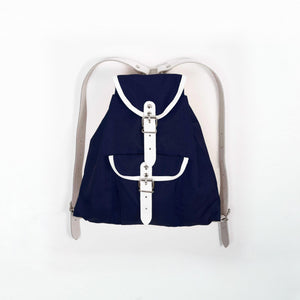 Children's backpack navy blue