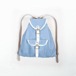 Children's backpack sky blue