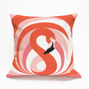 Pillow Cover Flamingo