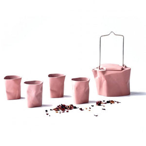 Bent Tea Set Pink